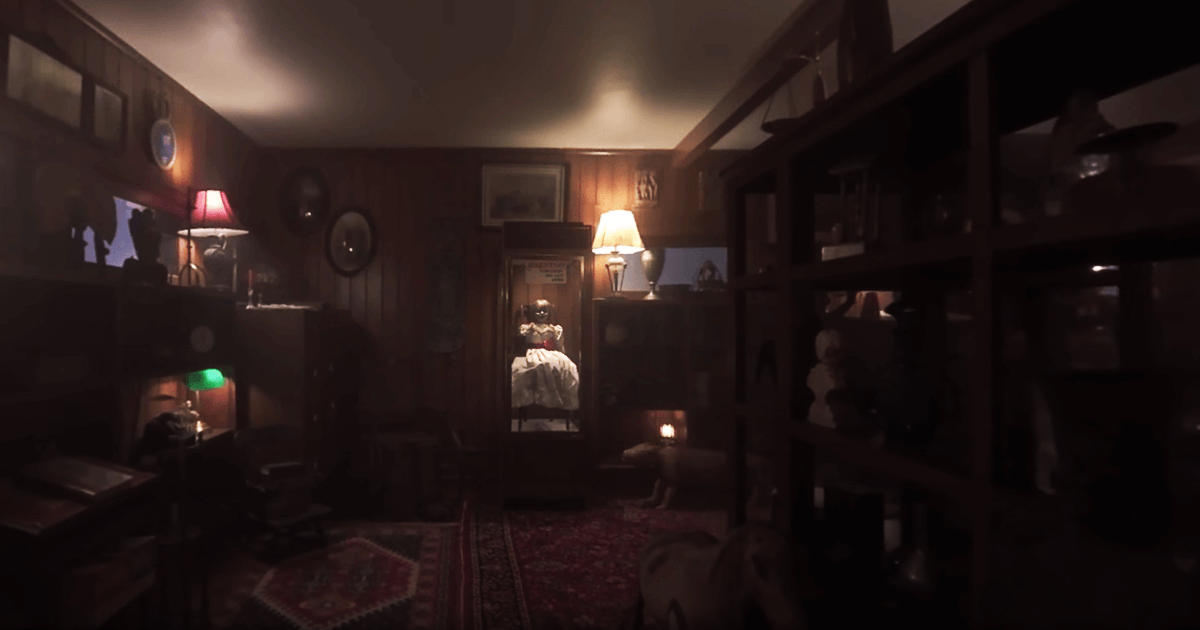 Peek Inside The Warrens Artifact Room In Annabelle Comes