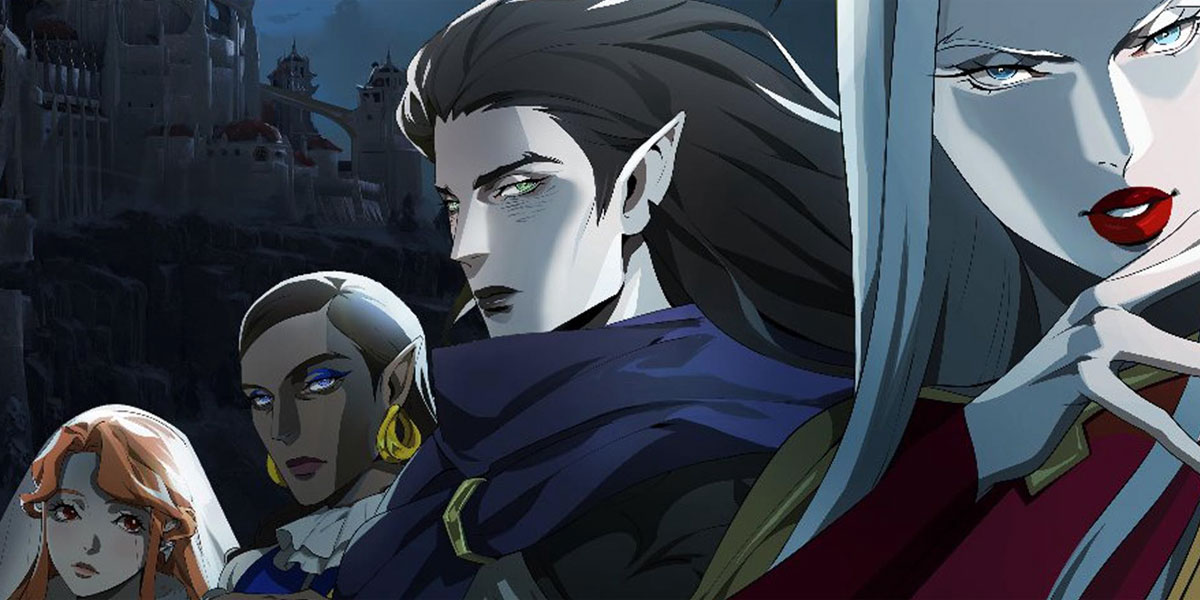 Image result for netflix  castlevania season 3 trevor sypha