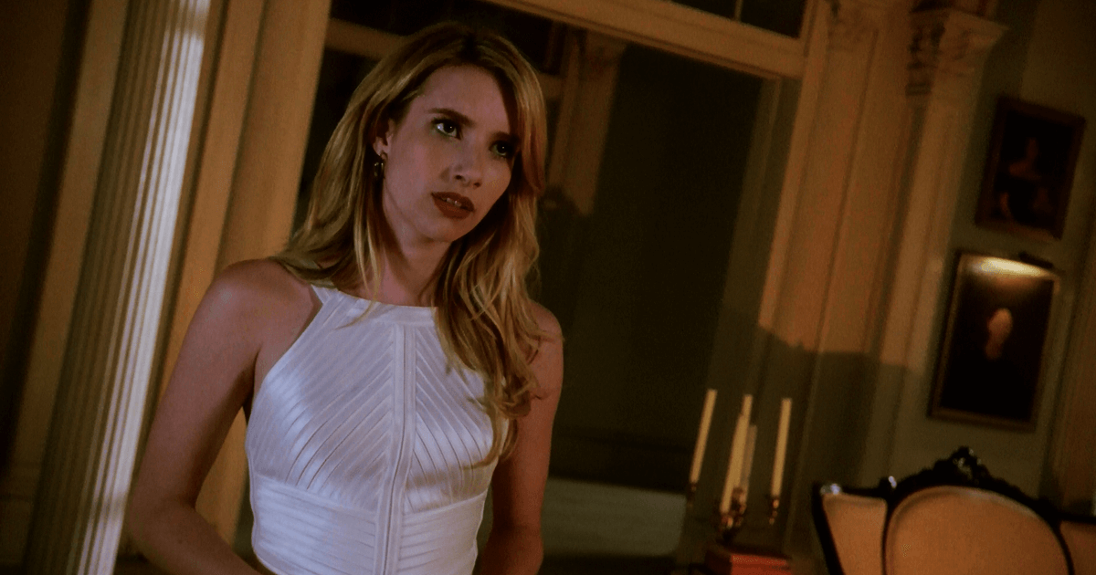 Emma Roberts Arrives At The Murder House In American Horror Story Apocalypse Dead Entertainment