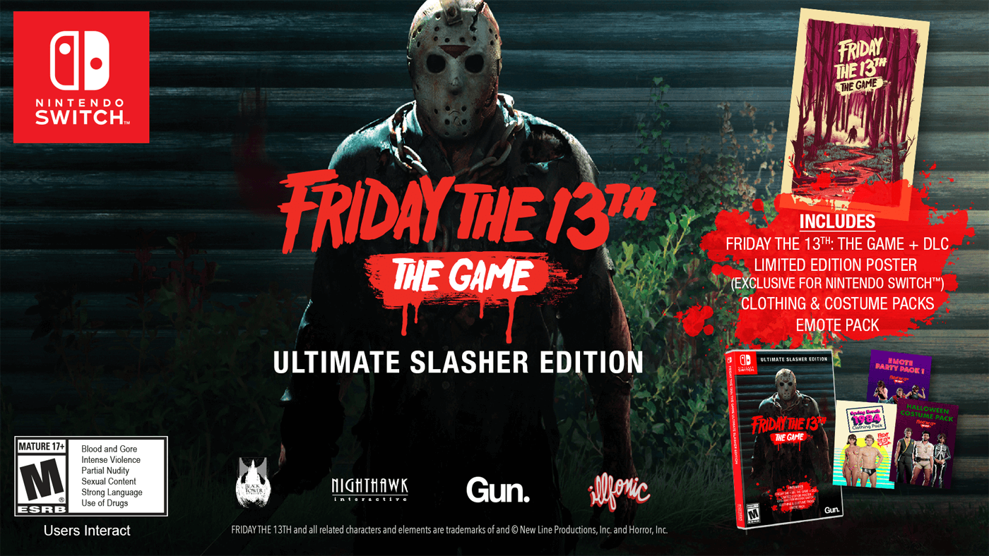 Friday the 13th: The Game Finally Gets a Nintendo Switch