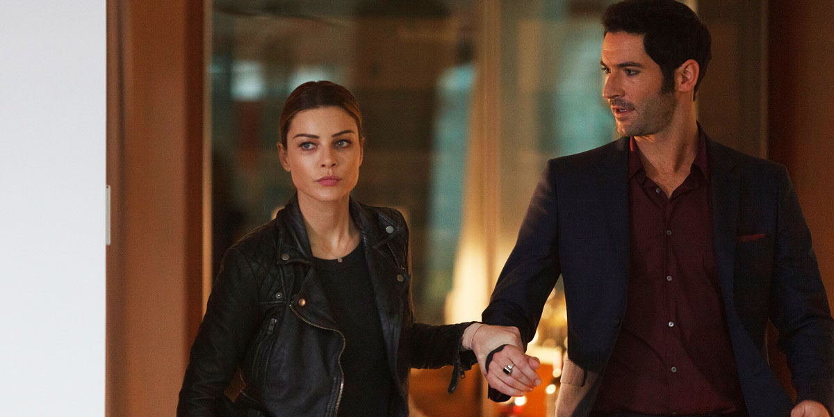 New Lucifer Season 5 Photo Sees Chloe And Friends Getting Together For Ladies Night Dead Entertainment