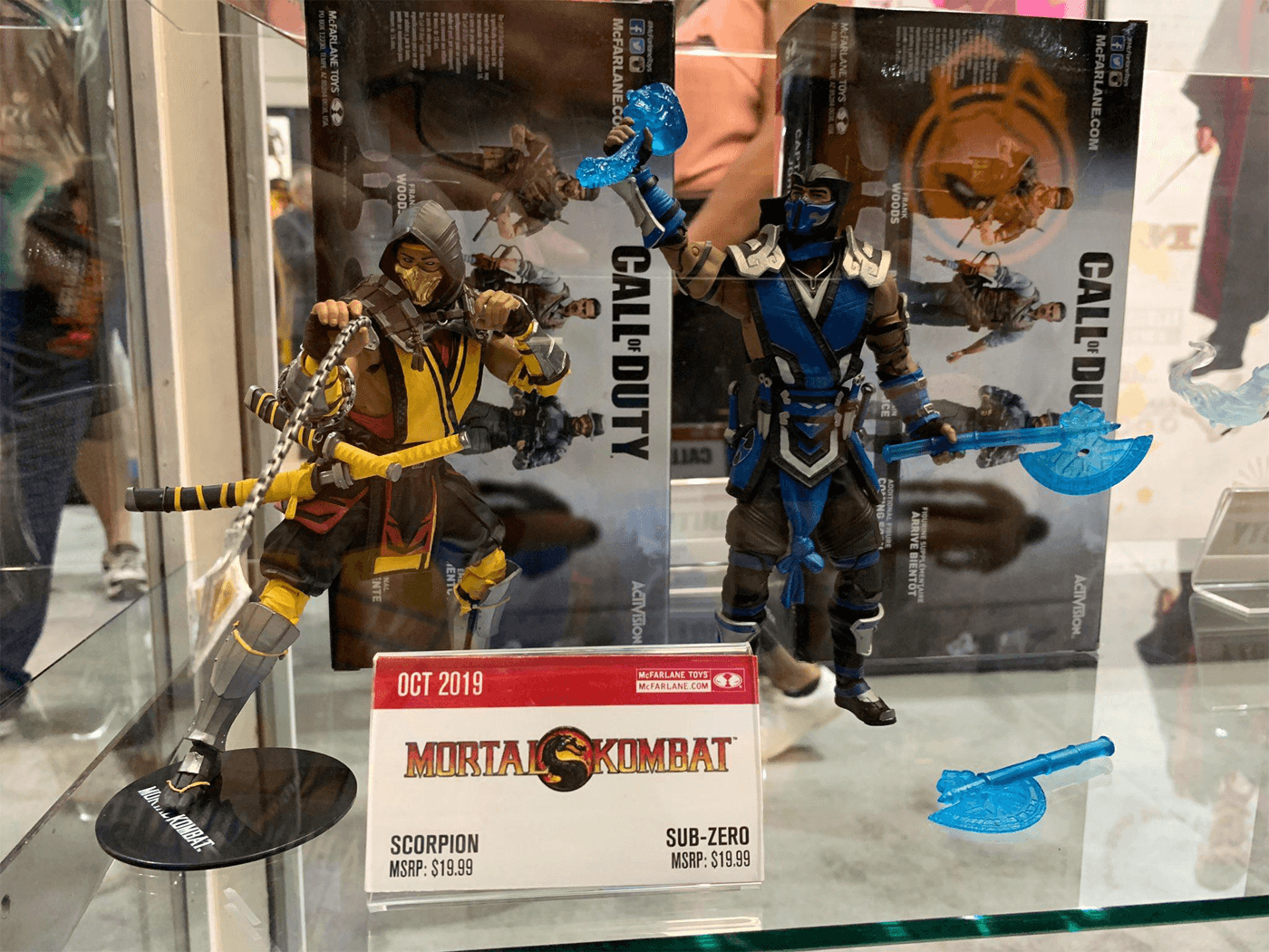 McFarlane Toys Invades San Diego Comic-Con with Mortal