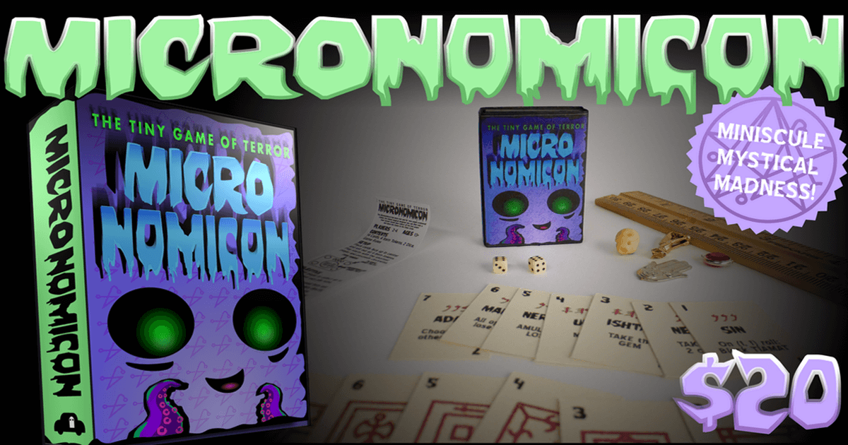 we dare you to read from the micronomicon dead