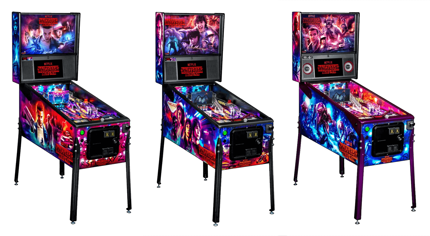 Stranger Things pinball machine coming from Stern