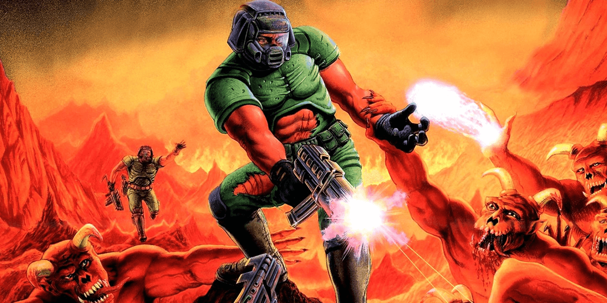 Here S The Doomguy S Face Recreated In High Resolution Dead