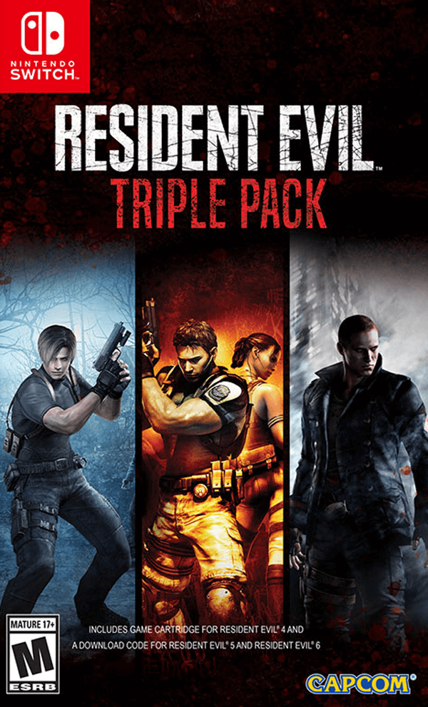 Resident Evil 5 And 6 Arriving On Nintendo Switch This October