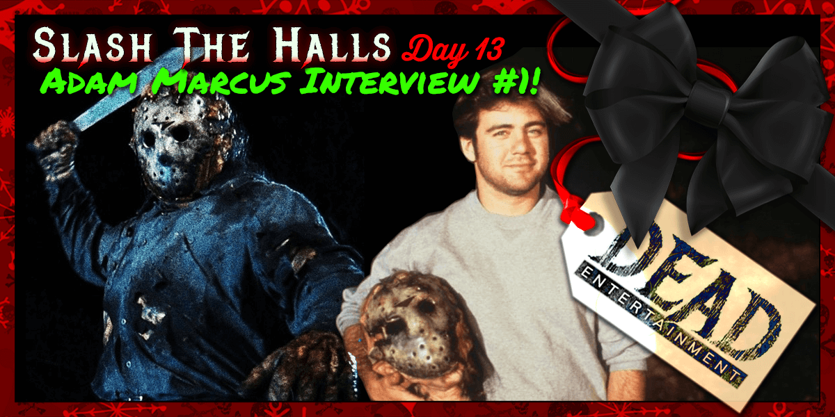 In October of 2017, I had the pleasure of conducting this interview with  Jason Goes to Hell director, Adam Marcus, as part of my Friday the 13th  YouTube ...