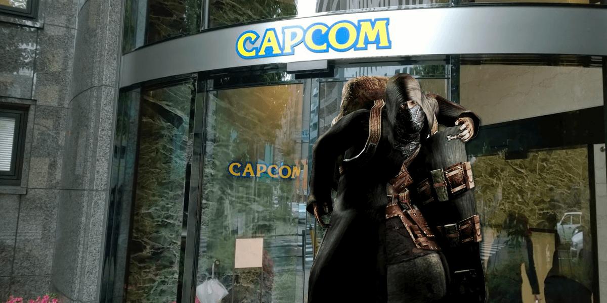 Mysterious Merchant Infiltrates Capcom Headquarters Destroys