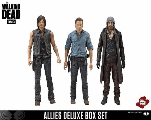 """McFarlane Toys The Walking Dead AMC negan et Glenn 5/"""" Figurine Deluxe Boxed Set"""