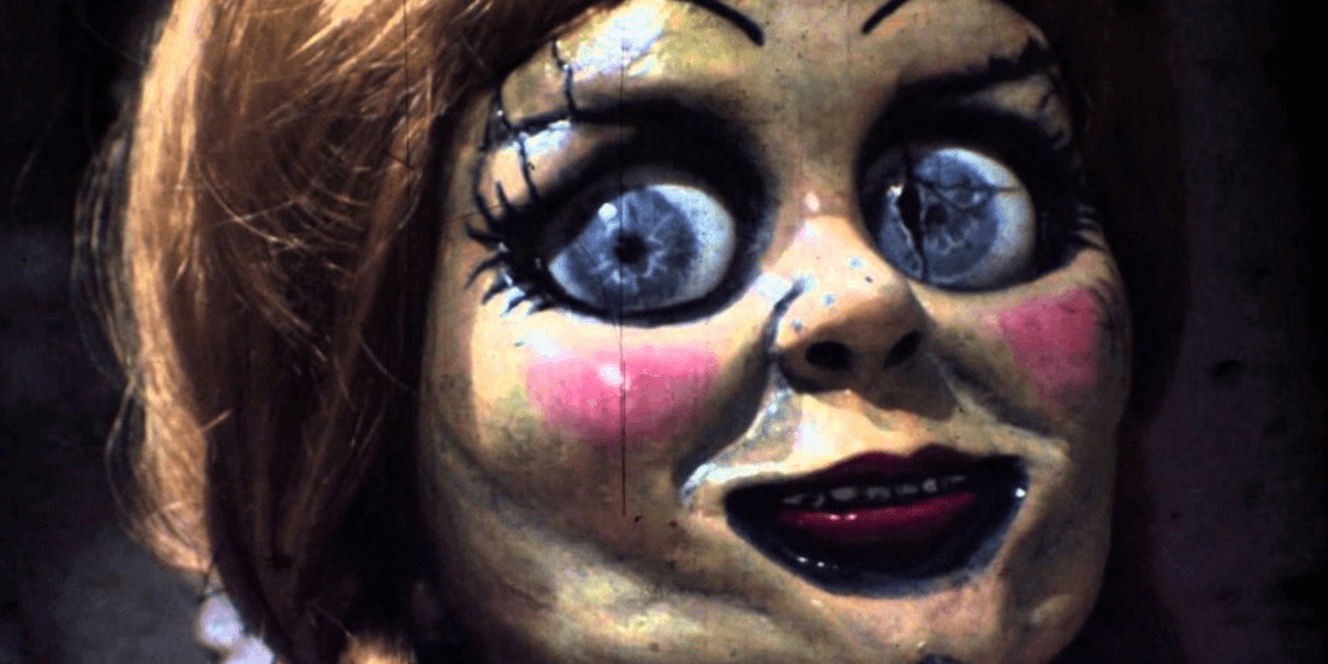 fans of the conjuring and more specifically its creepy living porcelin doll annabelle now have an oppertunity to bring her home mezco a toy company best
